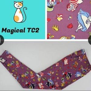Tc2 LuLaRoe Disney leggings